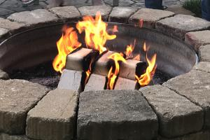 Eco-Friendly Wood for Fire Pits