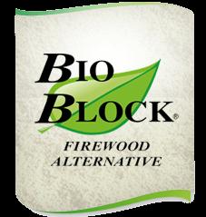 Firewood Redefined - 100% kiln-dried hardwood sawdust firelogs